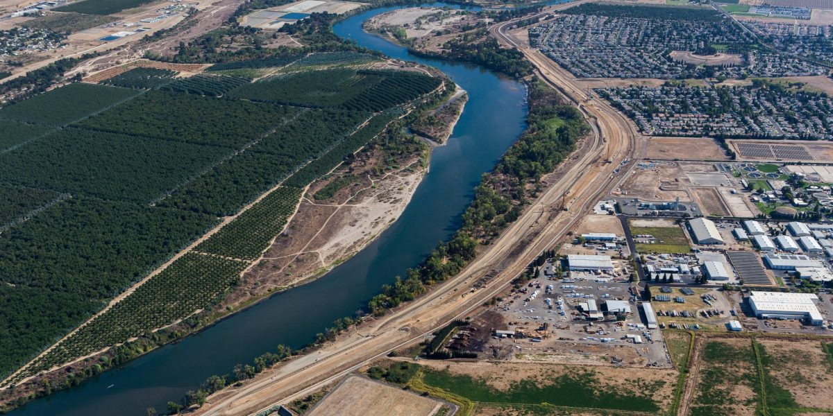 Feather River West Aerial